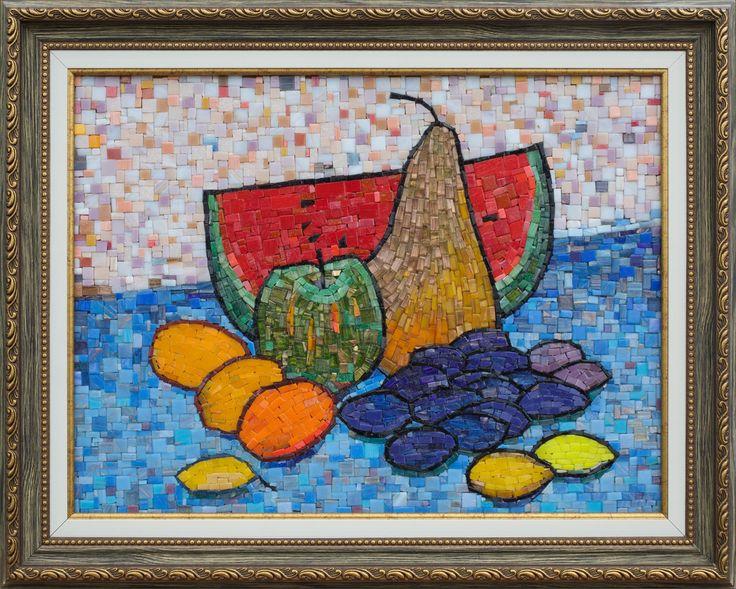 Mosaic.Арбуз и фрукты