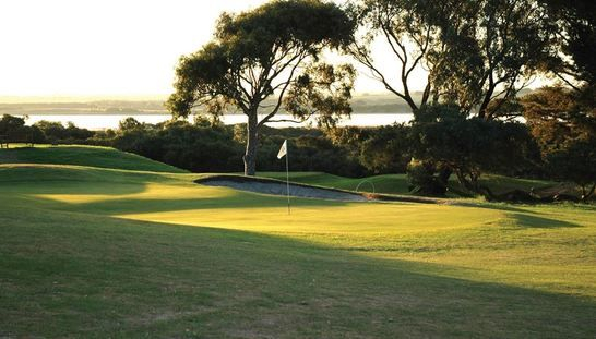 Discover one of Victoria's Hidden Gems, the beautiful Lonsdale Golf Club! Enjoy 18 holes for two in a shared motorised cart with a refreshing drink each after your rounds. Normally valued at $132, this offer just $63 - Save 48%! #golf #golfvic