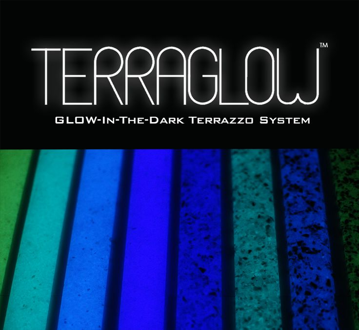 terraglow world 39 s first glow in the dark epoxy system 3 sara pinterest terrazzo and epoxy. Black Bedroom Furniture Sets. Home Design Ideas