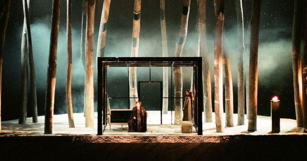 Tristan und Isolde ( - Tristan und Isolde (Act 2 Scene 1). Seattle Opera. Scenic design by Alison Chitty. 1998 --- #Theaterkompass #Theater #Theatre #Schauspiel #Tanztheater #Ballett #Oper #Musiktheater #Bühnenbau #Bühnenbild #Scénographie #Bühne #Stage #Set