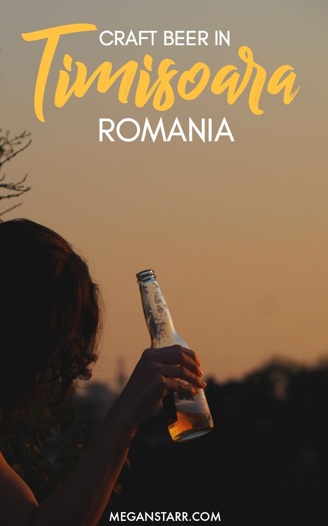 This guide shows beer lovers where to get a taste of local, Romania craft beer when visiting the western city of Timisoara.