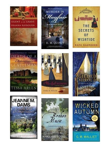 Marvelous Mysteries - British Series by thebritlass : Series set in Great Britain that offer some continuity and progression from book to book.