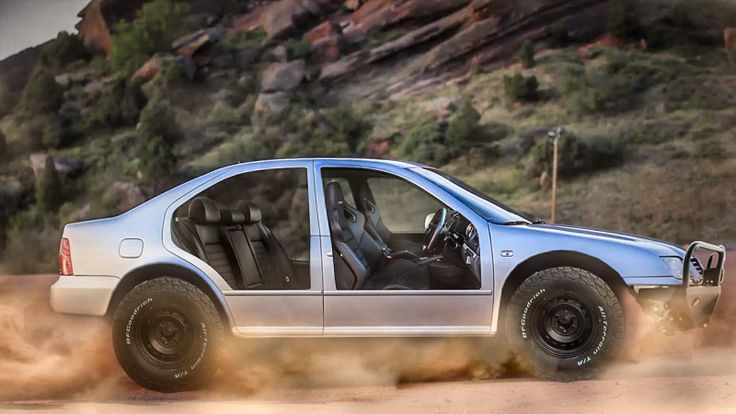 A few weeks ago, I decided to give back to my readers by announcing that I'd be giving away a 2001 Volkswagen Jetta VR6 to the starry-eyed dreamer that gave me their best and most insane project ideas for the car. It was tough, but I've finally managed to narrow it down to 10 finalists. Your butts—hold on to 'em.