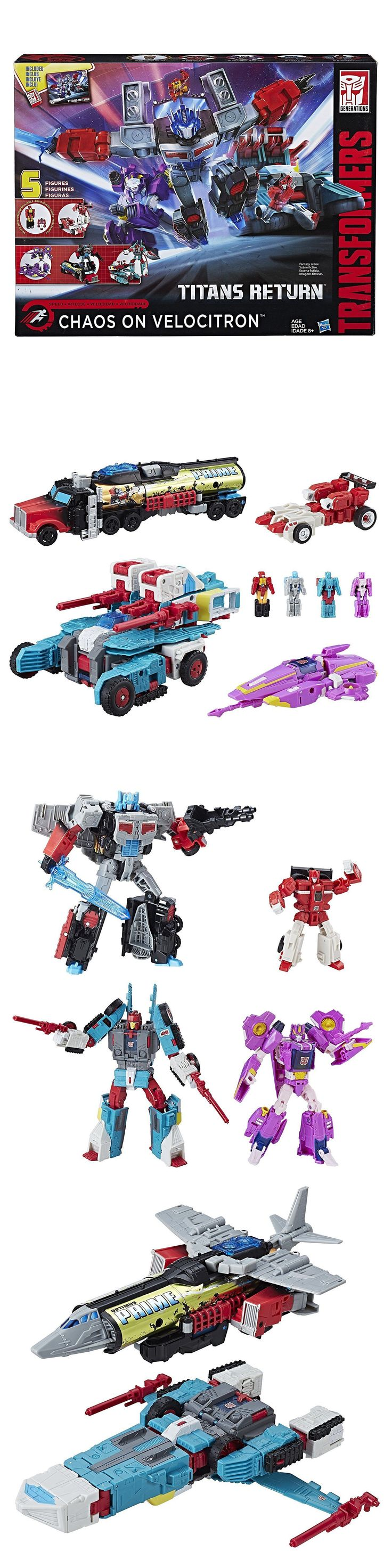 Transformers and Robots 83732: Transformers Titans Return Chaos On Velocitron Tru Exclusive Brand New -> BUY IT NOW ONLY: $114.95 on eBay!