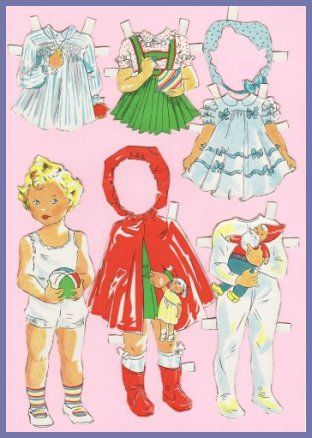Ingrid Molzen. PDsamler. Online Interest Group on paper dolls. Princess Margaret