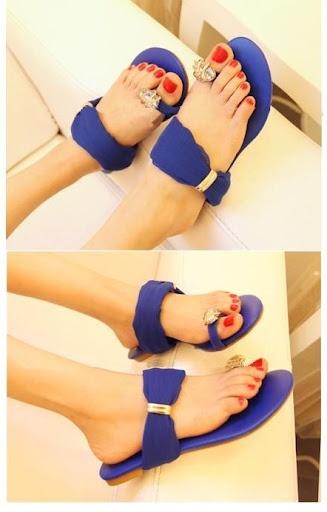 nice royal blue sandals @ http://trendy-stilettoheels.blogspot.com