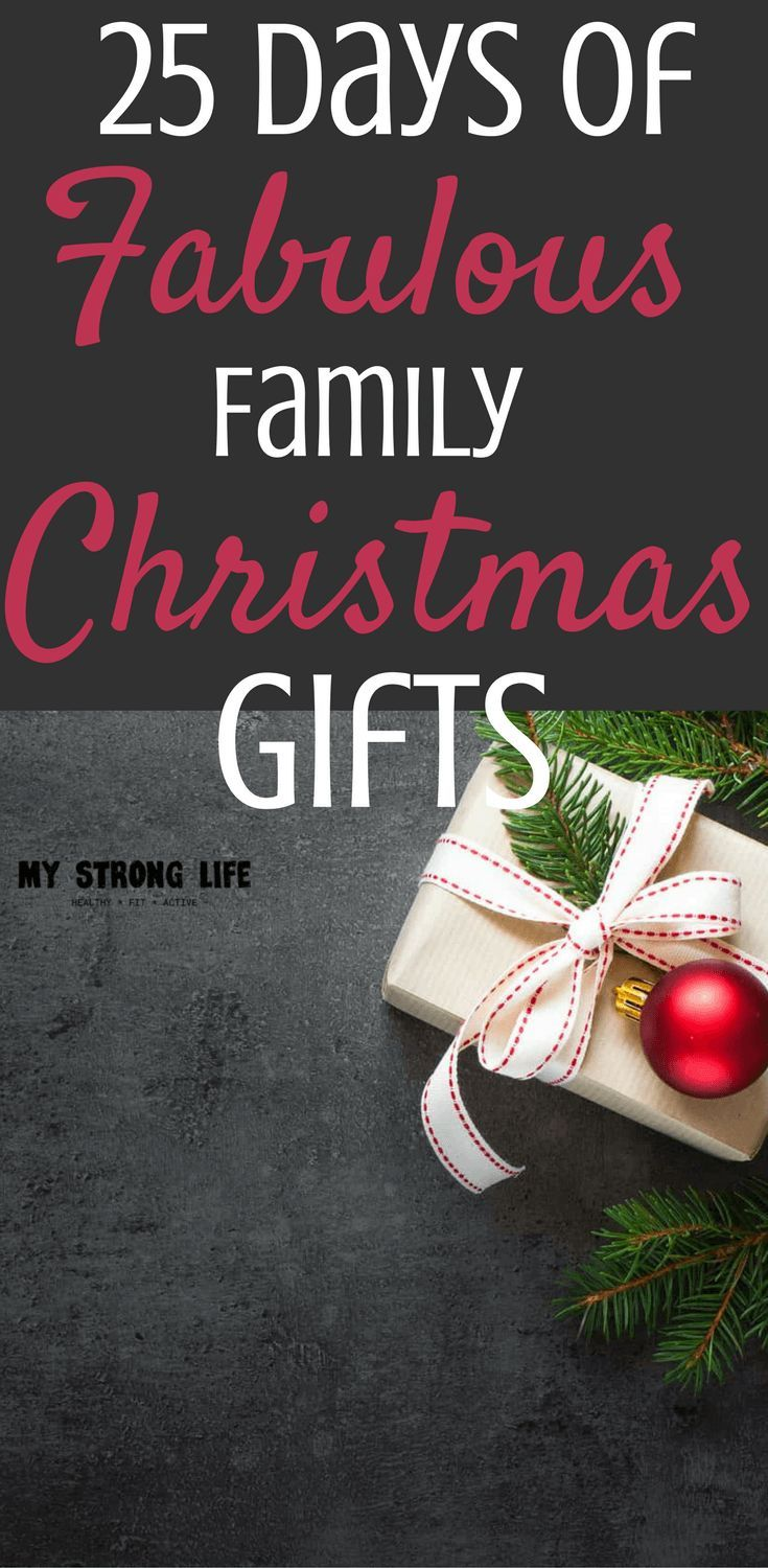 The Best family gift ideas you can get in time for Christmas! Some are big, some small, but all awesome!