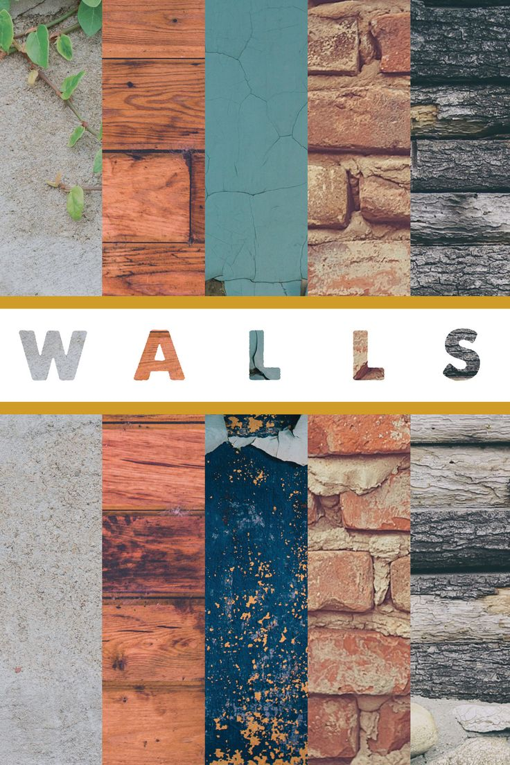 https://flic.kr/p/ynGrKw | Walls_Poster_24 | Walls Graphic by Kate Spence for Emmanuel Church Graphic Design Sermon Series