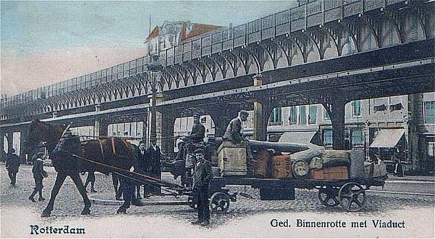 Rotterdam - Gedempte Binnenrotte, 1901
