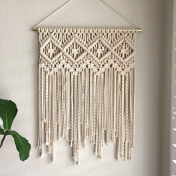 25+ unique Macrame wall hangings ideas on Pinterest ...