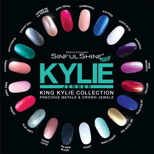 Sinful Shine Nail Polish~Sinful Shine King Kylie Collection~Swatches
