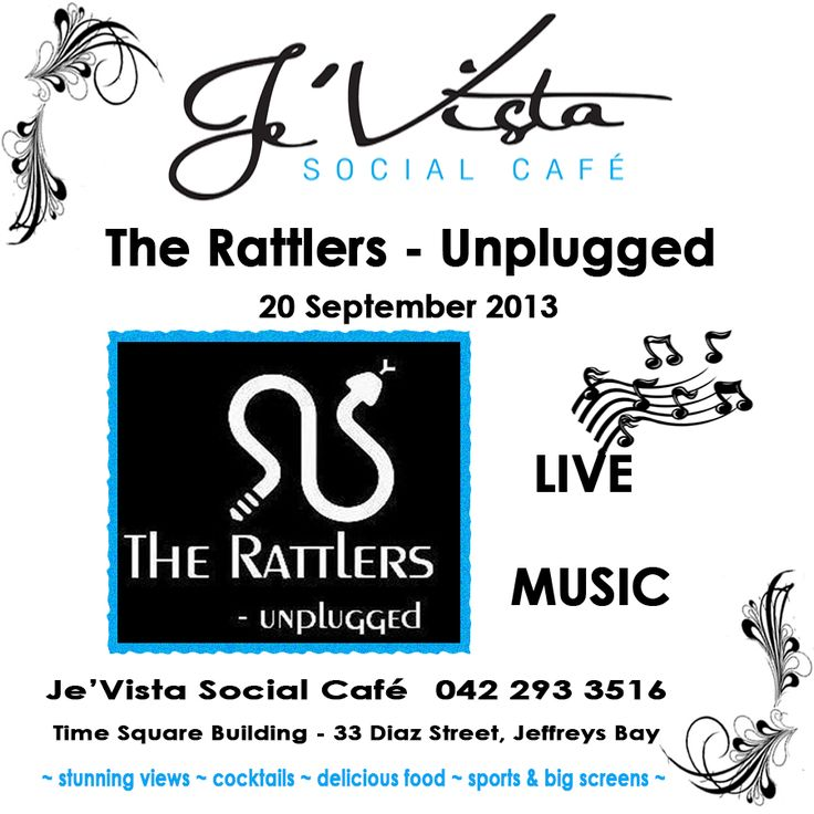 The Rattlers - Unplugged live at Je'Vista Social Cafe