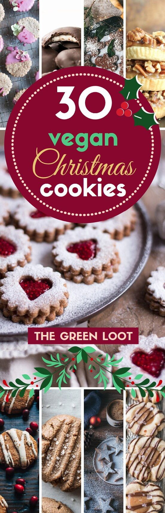 We have collected the absolute best, most delicious and divine vegan X-mas cookies, that are easy and even healthy! Enjoy these finger-licking yummies! See our best vegan Christmas desserts/treats list too! Happy Holidays!