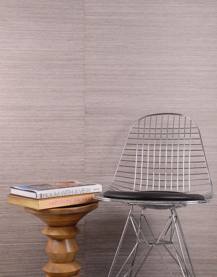 Indochine is an elegant natural wallcovering with a linear grass weave texture from the Natural Wallcoverings collection.