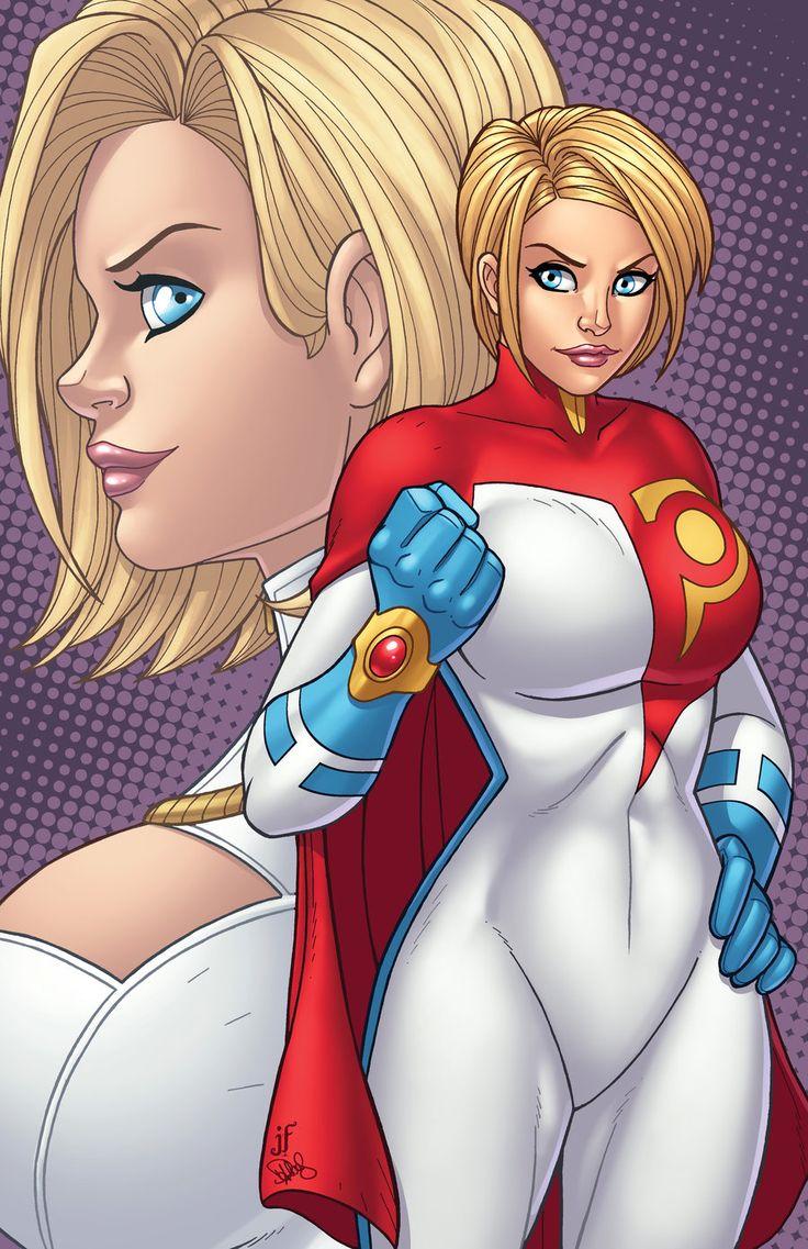 Power Girl - Legacy by JamieFayX.deviantart.com on @deviantART