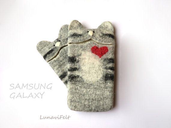 Valentines heart cat Samsung Galaxy s6 Case Samsung Galaxy s6 edge case /s4…
