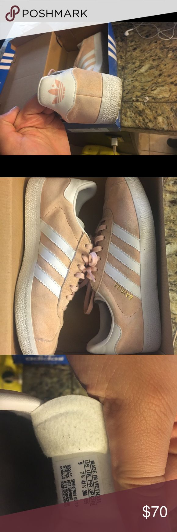 Adidas Size 9 women super cute. Offer , price is not firm adidas Shoes Sneakers