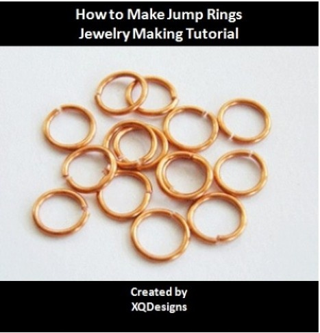 FREE DOWNLOAD - How to Make Jump Rings Jewelry Making Tutorial T83