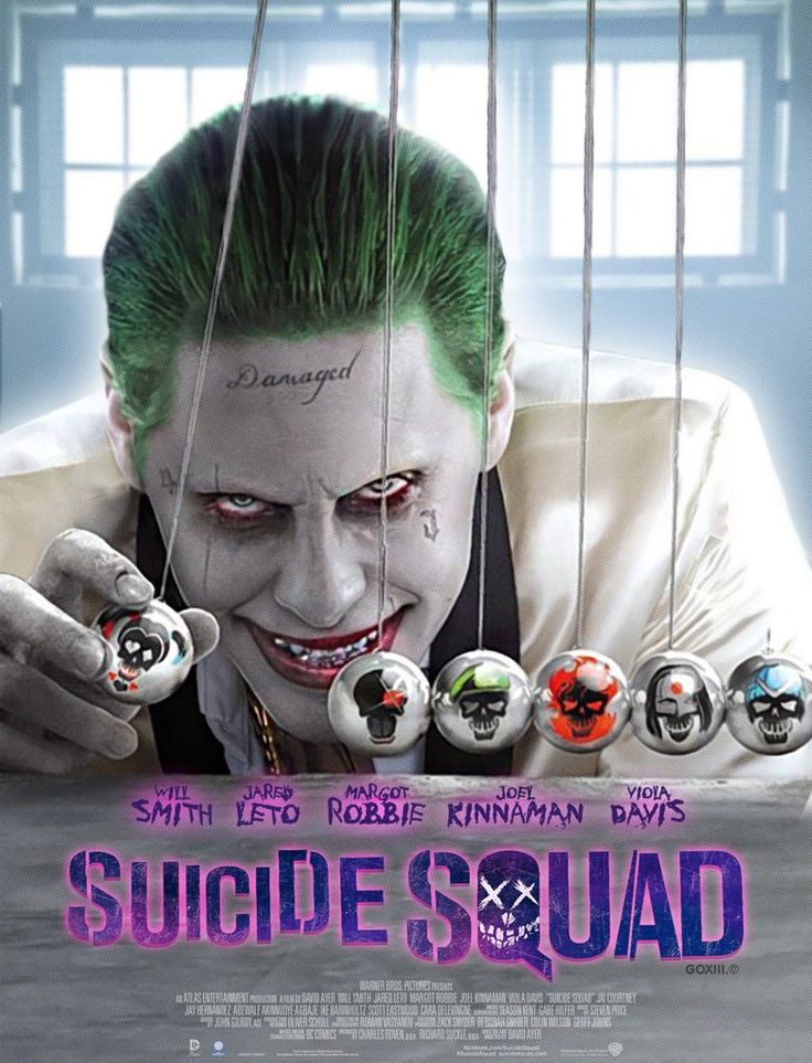 suicide squad (2016) This movie was a mess, and the editing was all over the place, some of the cast had nothing to do, but it was a ton of fun, plus all the leads were great