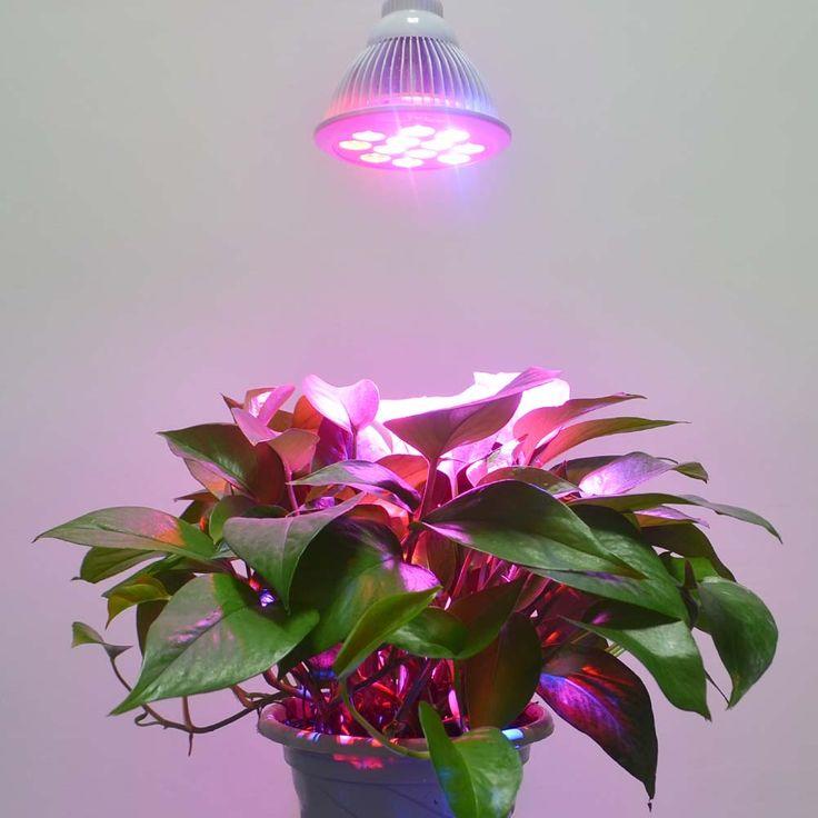 HonestEast 植物育成用LEDライト 水耕栽培ランプ 室内栽培ライト 16W LED電球 E26/E27口金 3つの波長 ホワイト 長寿命5000hr  #light #led #growligt