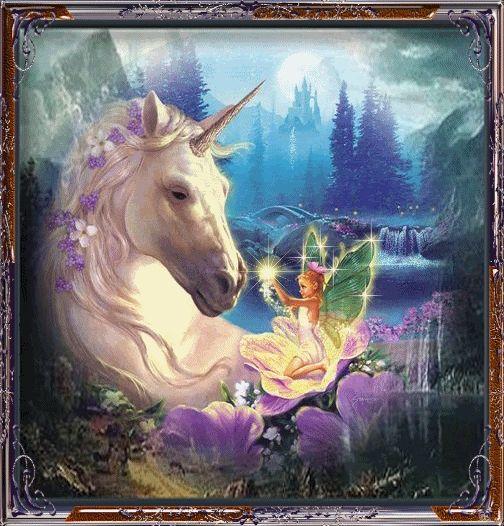 unicorns, peguses, and fairies pics   Unicorn And Fairy - Unicorns Fan Art (24717865) - Fanpop fanclubs