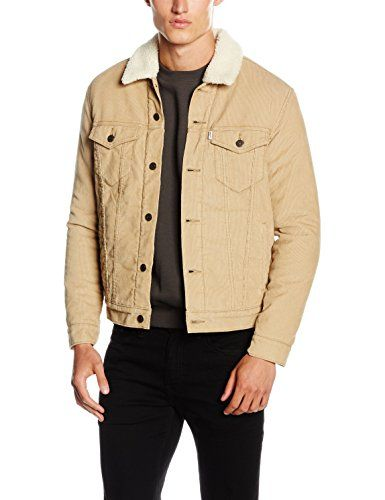 Levi's Men's Good Sherpa Trucker Casual Shirt, Beige (O07... https://www.amazon.co.uk/dp/B01EYK4QQA/ref=cm_sw_r_pi_dp_U_x_zPHlAbGARYEWX