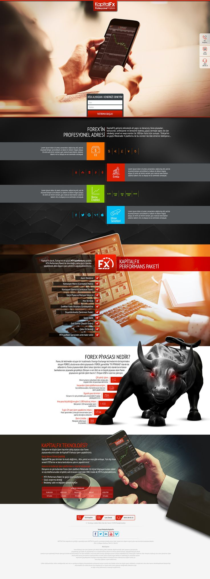 web pages design templates