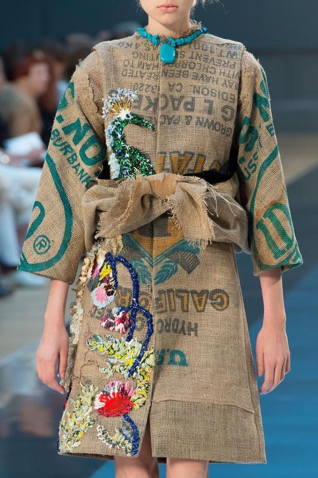 Fashion upcycling at it most haute ! Maison Martin Margiela Details HC F/W '15