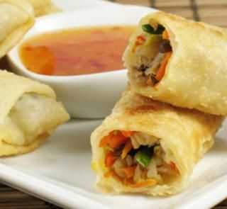 Tasty Spring rolls that are low in kilojoules! | Australian Healthy Food Guide