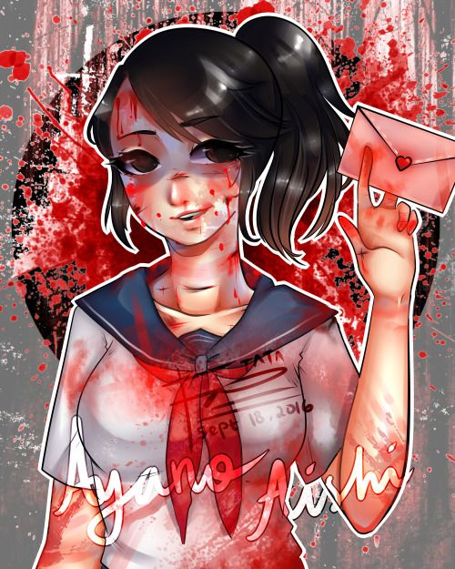 @yanderedev 's yandere simulator fanart!! definitely cant wait to see the next…
