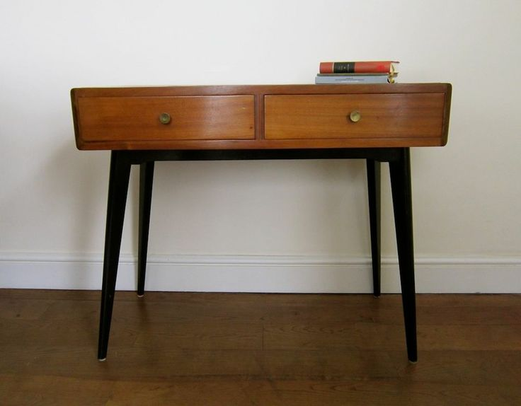 Mid Century Desk Dressing Table 1950s