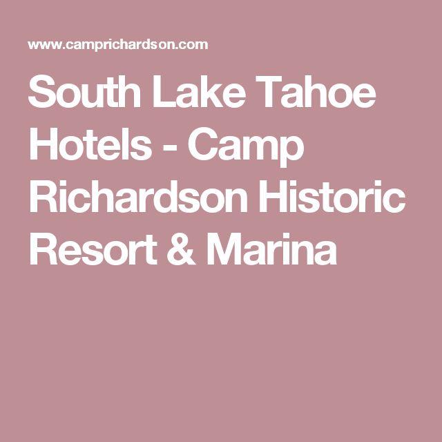 South Lake Tahoe Hotels - Camp Richardson Historic Resort & Marina