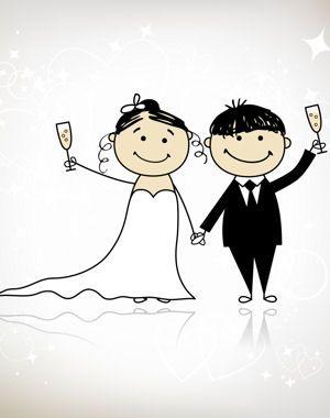 Inventif : une BD pour les mariés : 15 idées d'animations pour votre mariage - Journal des Femmes Mariage