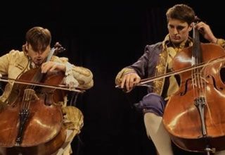 """Even if you do not like this song you need to see this!  AC/DC's """"Thunderstruck"""" Played On Cellos"""