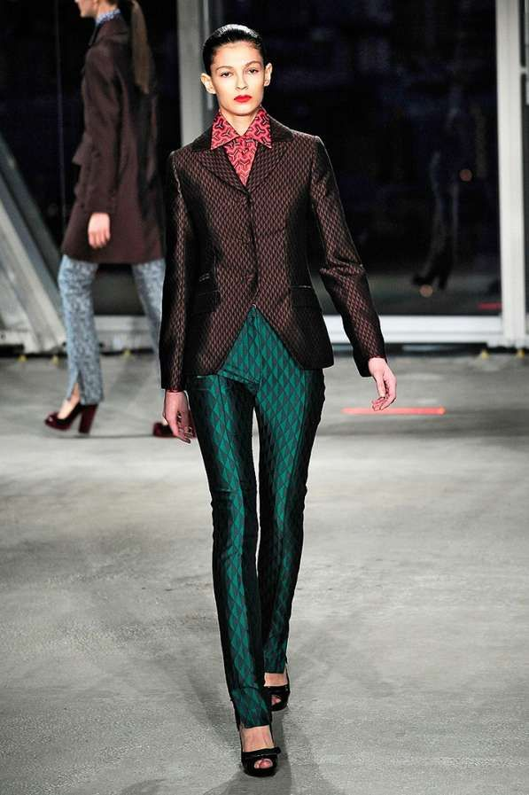 Optical Illusion Collections - Jonathan Saunders AW 2012
