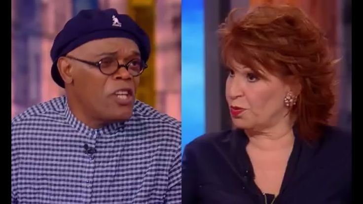 Samuel Jackson SCHOOLS Joy Behar on Gun control