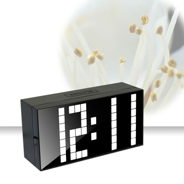 Ch KOSDA Modern calendário termômetro alarme Snooze relógio Digital LED relógio de mesa grande número Big relógios de noite alishoppbrasil