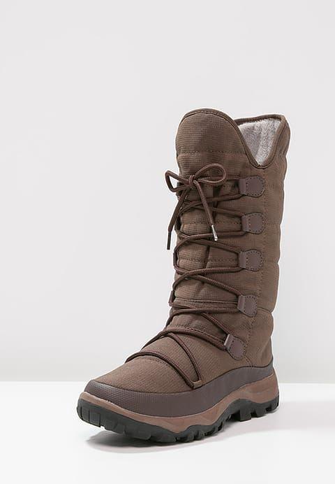 Pedir  Anna Field Botas para la nieve - dark brown por 39,95 € (4/01/17) en Zalando.es, con gastos de envío gratuitos.