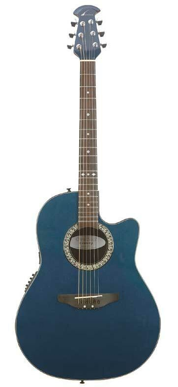 My pretty little Ovation Acoustic-Electric Thin Bodied Guitar
