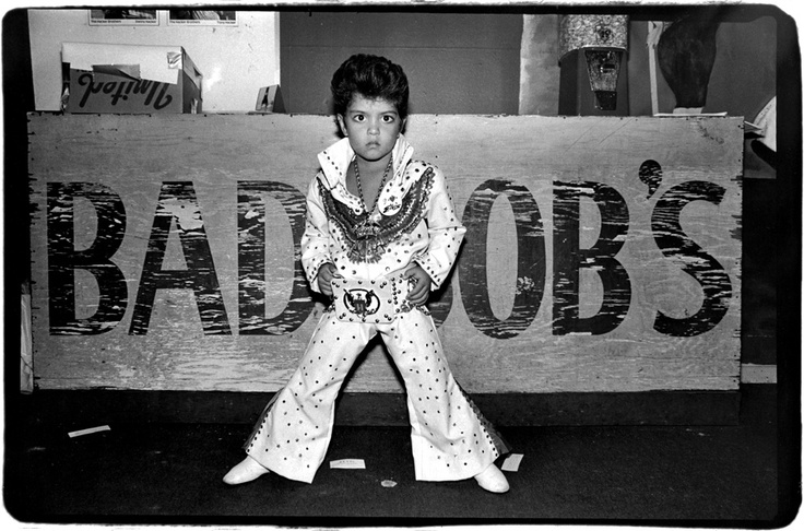 A Very Young Bruno Mars Doing The Elvis Impression