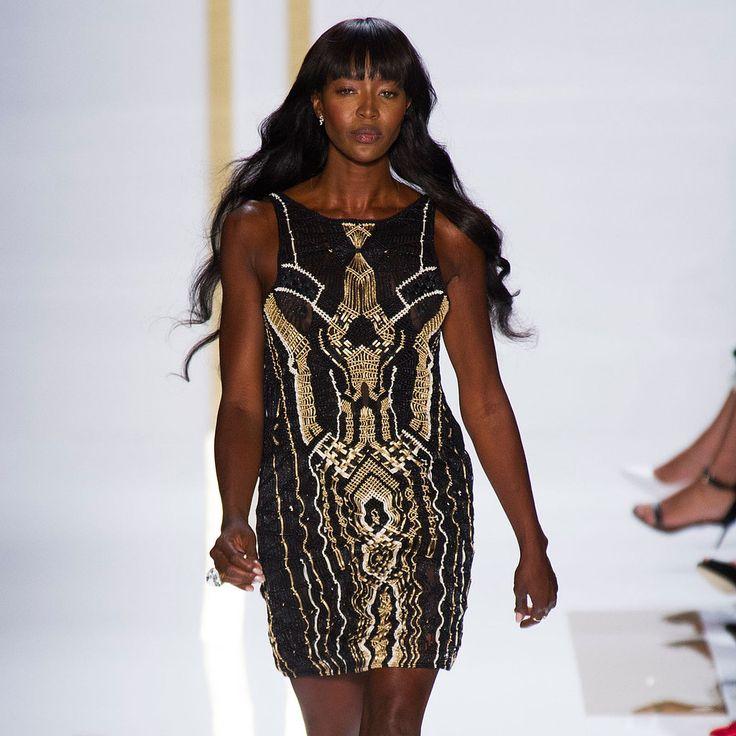 Diane von Furstenberg Spring 2014 Runway   NY Fashion Week   POPSUGAR Fashion