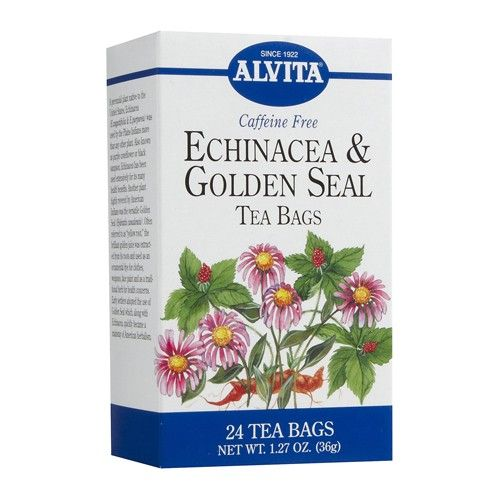 Goldenseal and echinacea tea
