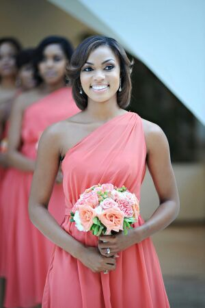 Bridesmaid dresses? My favorite color :-)
