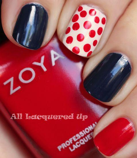 July 4th nails! http://goo.gl/s0cCP