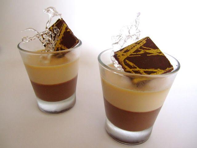 Coccole di dolcezza: Panna cotta al ciocco-caffè e caramello