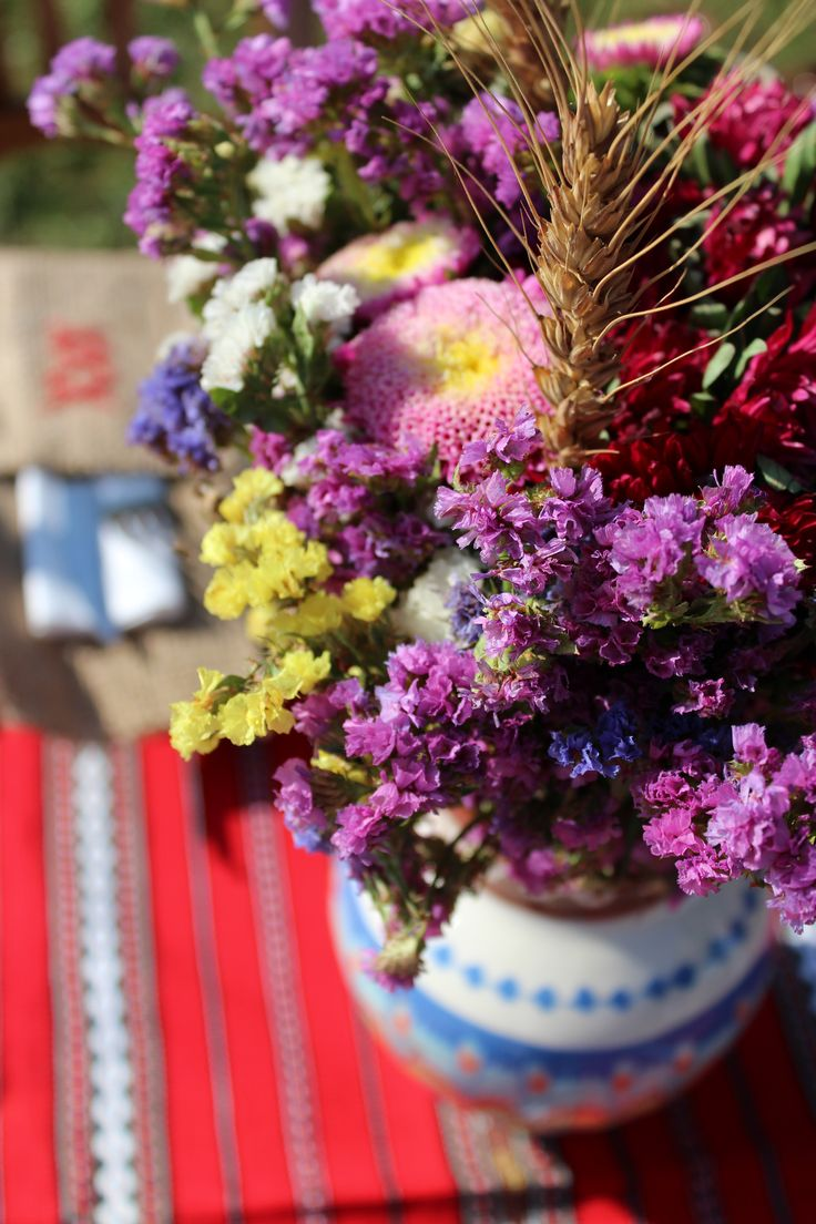 Flori si spice de grau