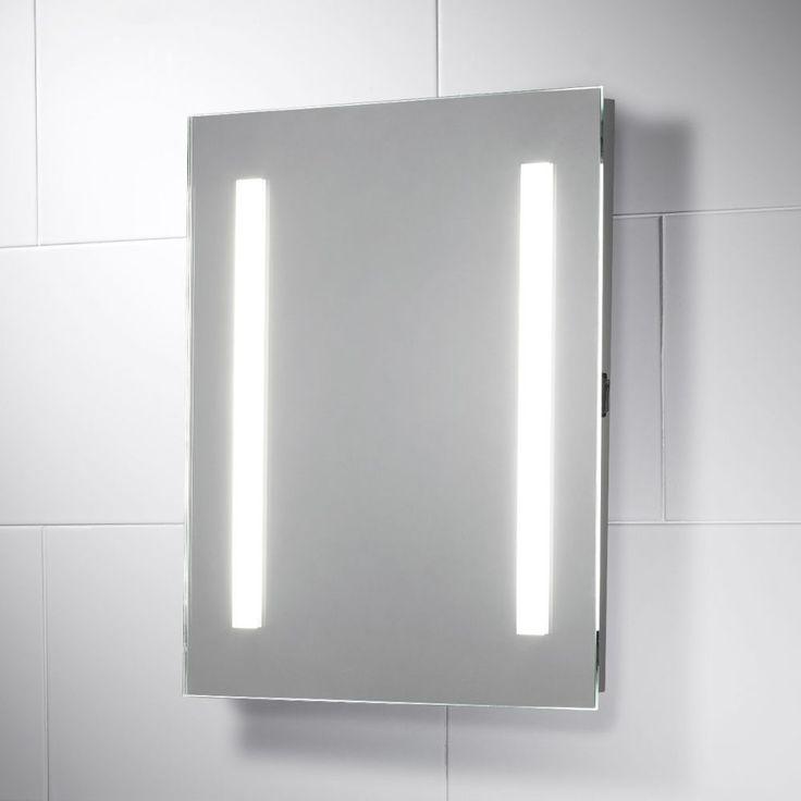 Serena Energy Saving LED Illuminated Bathroom Mirror with Shaver Socket