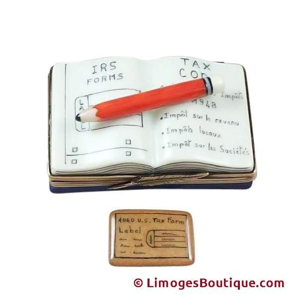 CPA BOOK PROFESSIONAL ACCOUNTANT LIMOGES BOX