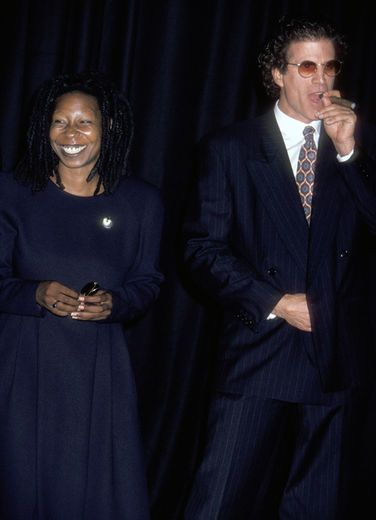 Whoopi Goldberg and Ted Danson | 10 CELEB COUPLES WHO FELL IN LOVE ON SET