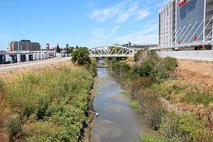 San Tomas Aquino Creek near Levi's Stadium